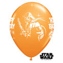 "Qualatex | 25 Classic 11"" Star Wars Birthday Balloons"