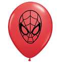 "Qualatex 5"" Spider Man Balloons"