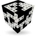 V-Cube CROSSWORD - 3 x 3 Straight Cube