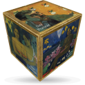 V-Cube Gaugin - 3 x 3 Flat Puzzle Cube