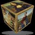 V-Cube Renaissance - 3 x 3 Straight Puzzle Cube