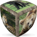 V-Cube Wild Animals - 3 x 3 Pillow Puzzle Cube